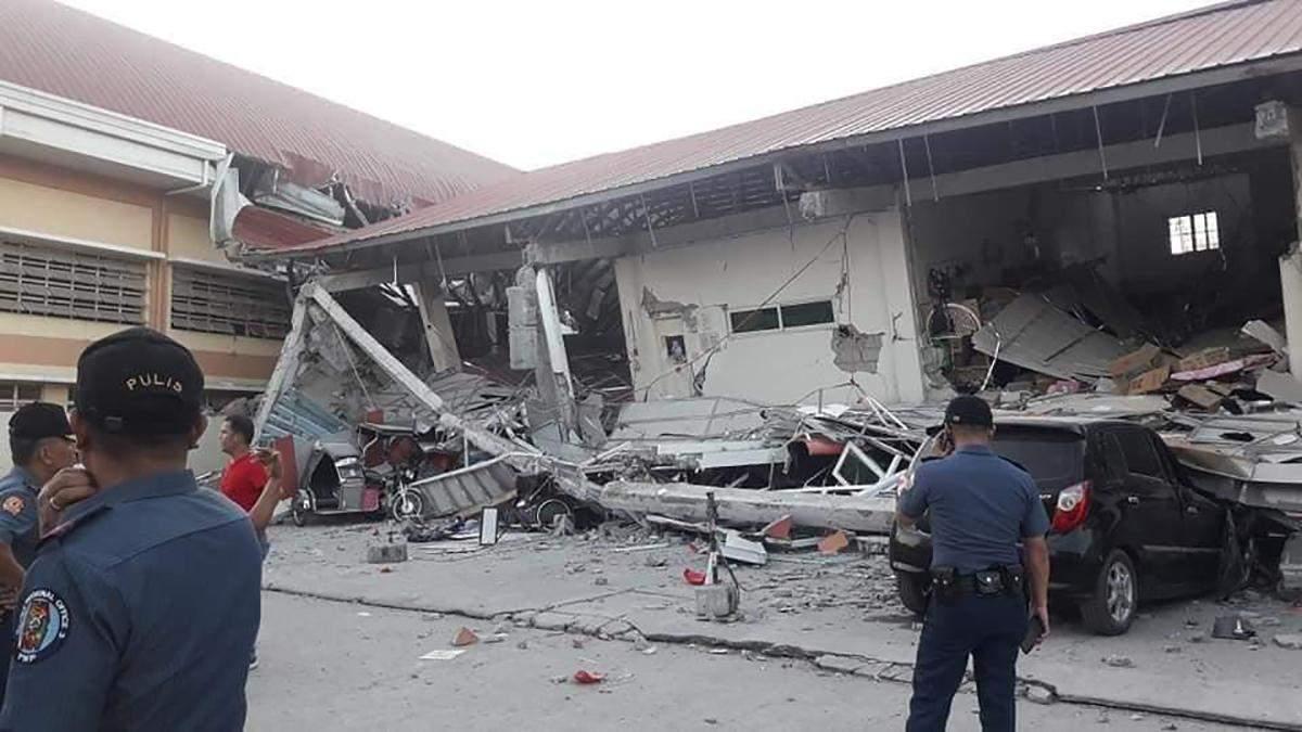Філіппіни сколихнув сильний землетрус, є загиблі