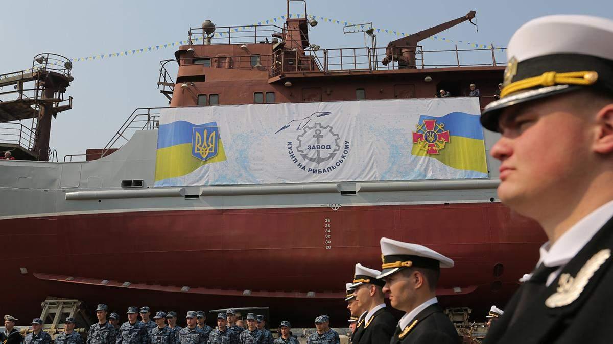Украина построила разведывательный корабль, у которого нет аналогов: фото и видео