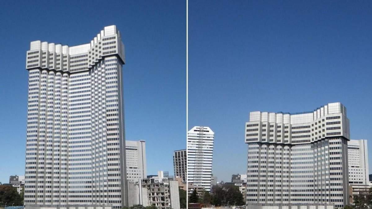 Бесшумный и экологичный снос отеля в Японии