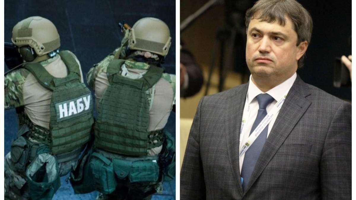 НАБУ обыскало дом Вадима Костюченко
