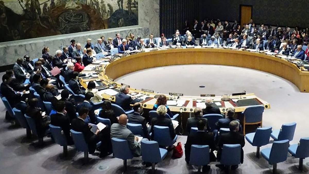 Радбез ООН збере засідання щодо окупованого Донбасу 25 квітня