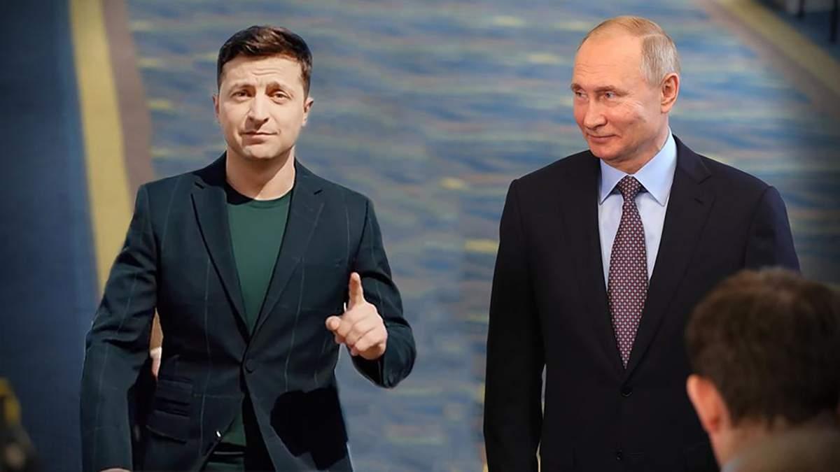 Как Владимир Зеленский должен позиционировать Украину перед Путиным