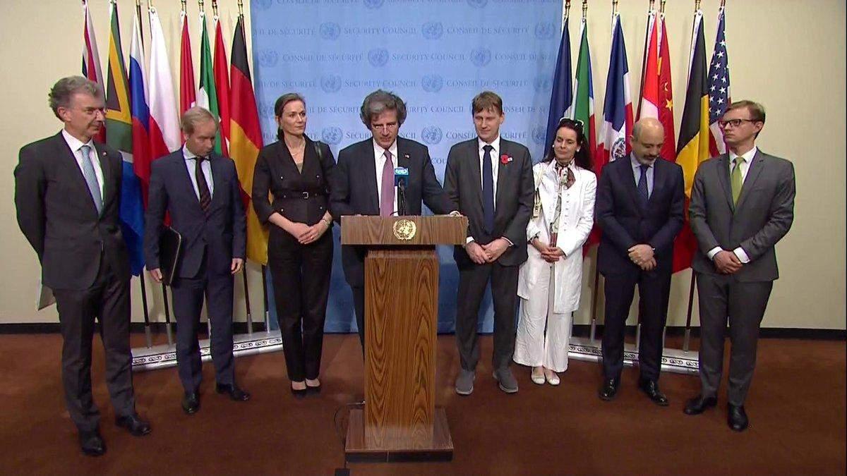 Радбез ООН - онлайн засідання через указ Путіна по Україні