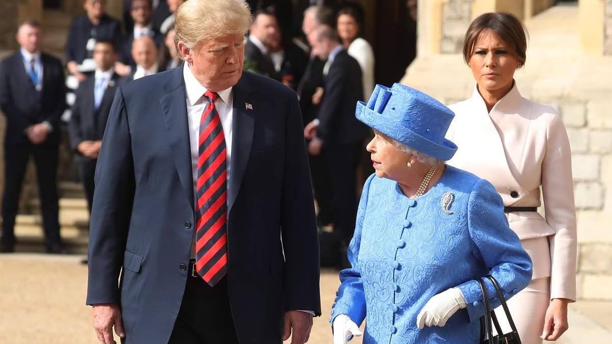 Королева Елизавета пригласила Дональда Трампа