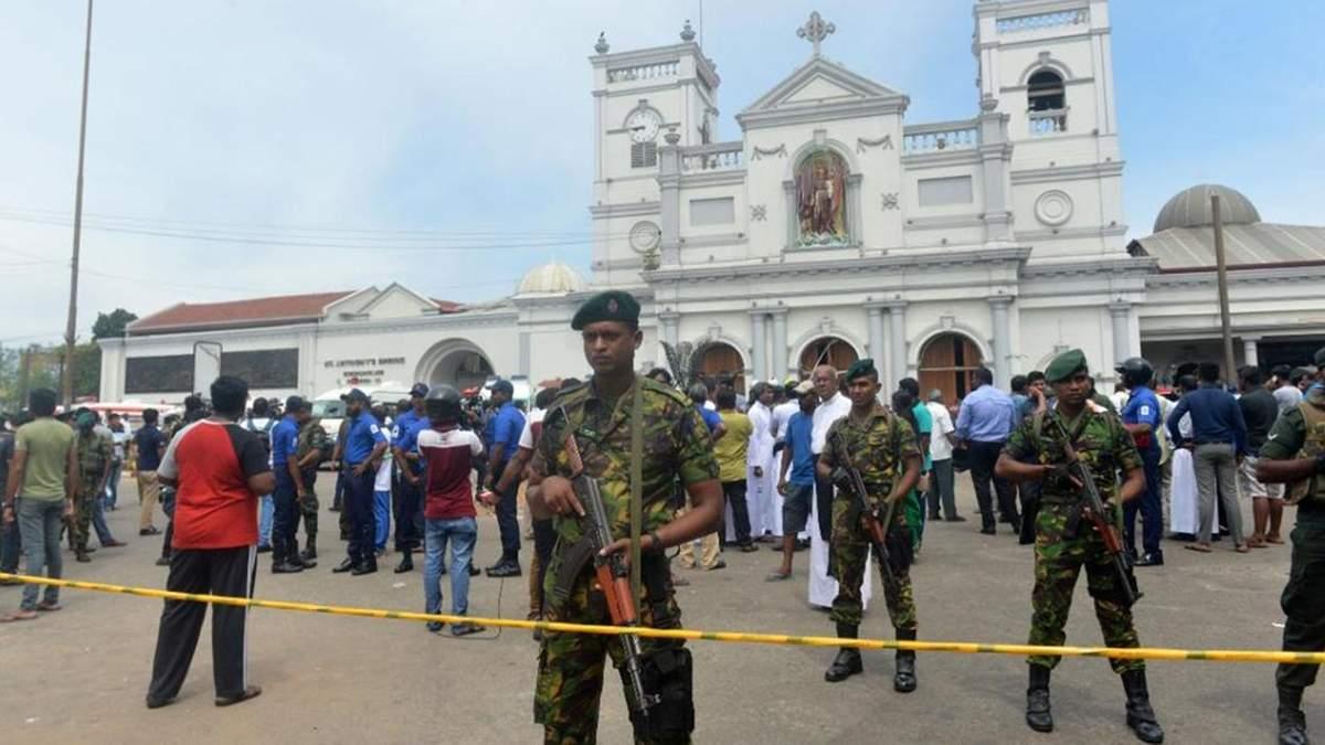 У Шрі-Ланці через теракти загинули 359 людей