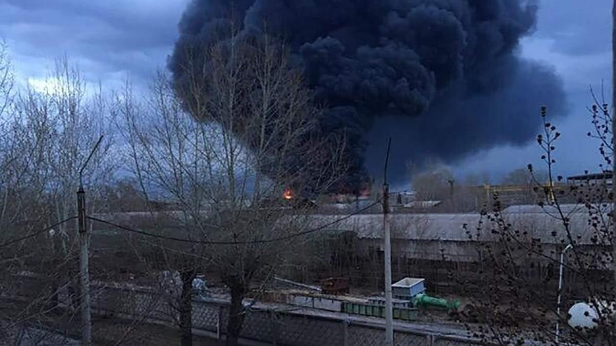 В Красноярске на заводе по производству стратегических ракет вспыхнул пожар: очевидцы говорят о взрыве
