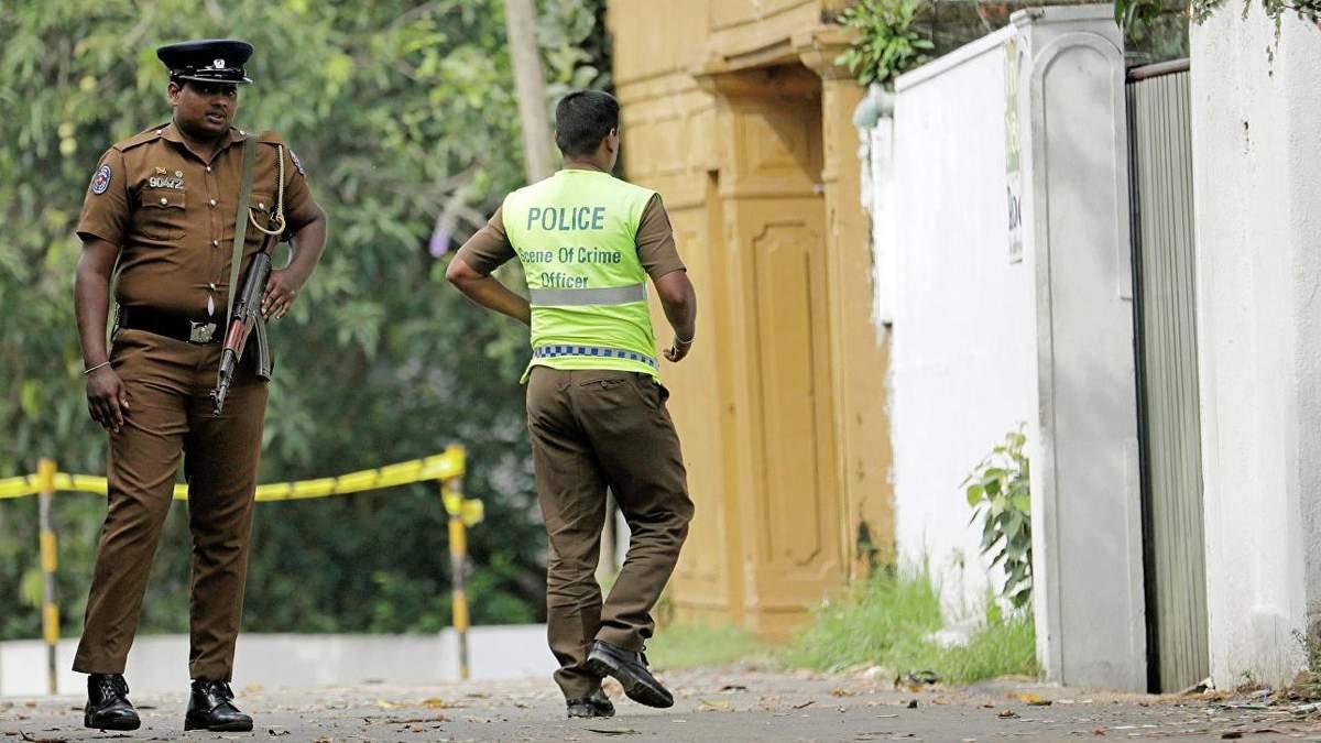 На Шрі-Ланці під час операції зі знешкодження терористів пролунали вибухи та сталася стрілянина