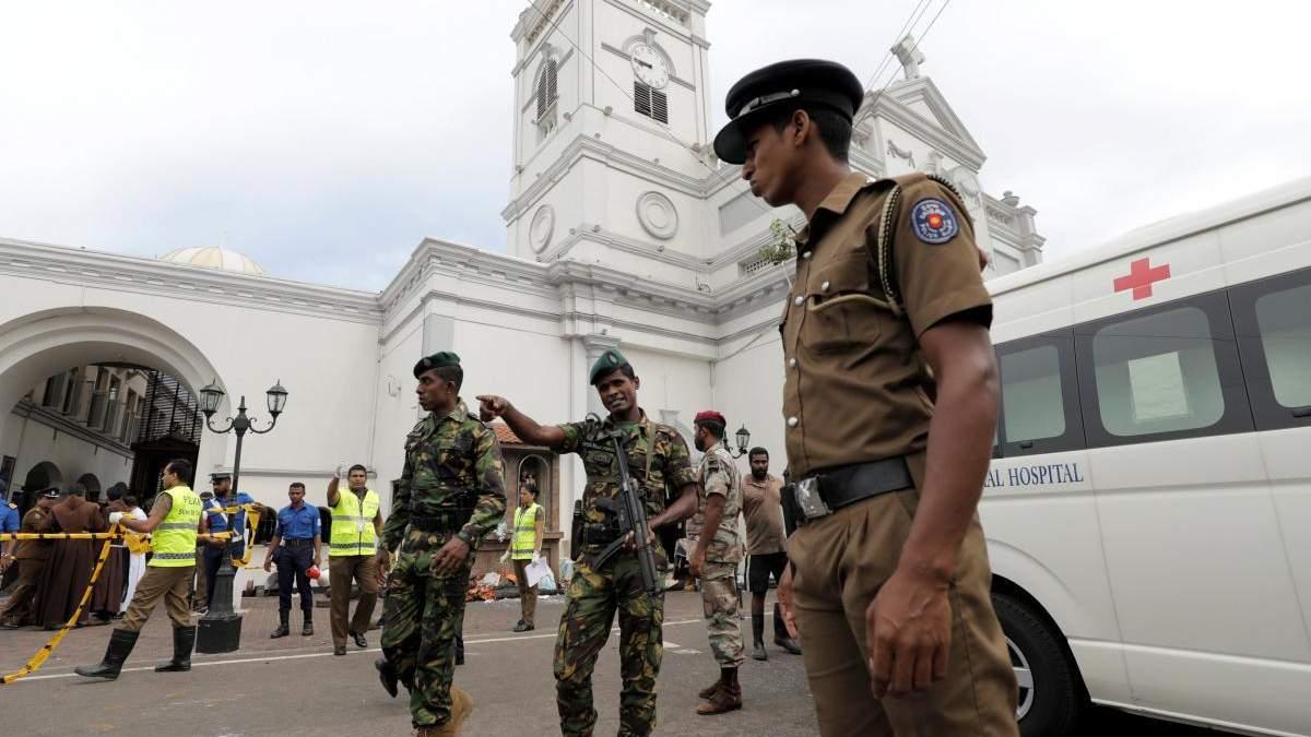 Серія терактів на Шрі-Ланці