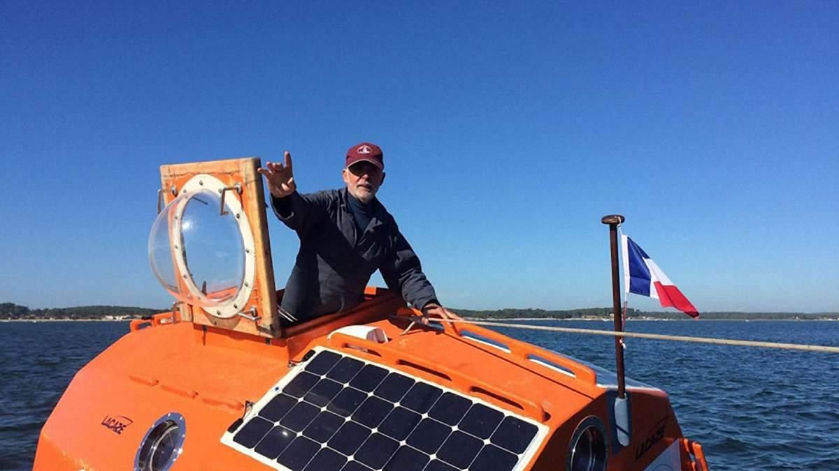 72-летний француз пересек Атлантику в бочке: невероятная история