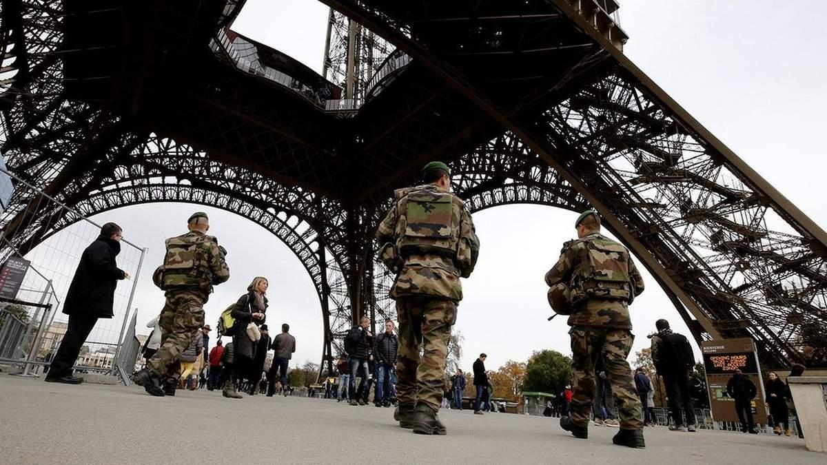 Во Франции задержали группу подозреваемых в подготовке теракта