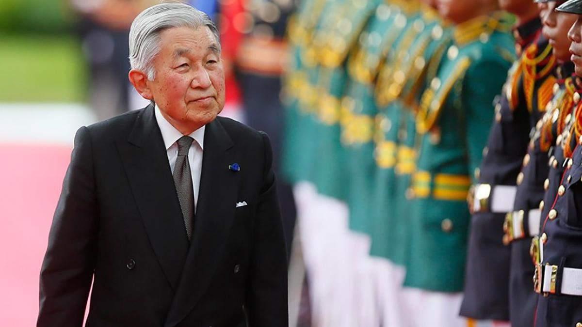 Император Японии отрекся от престола: видео