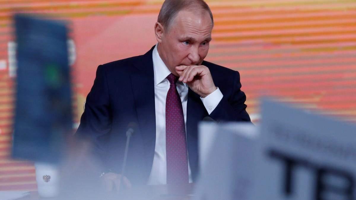 Путін шукає больові точки новообраного президента Зеленського