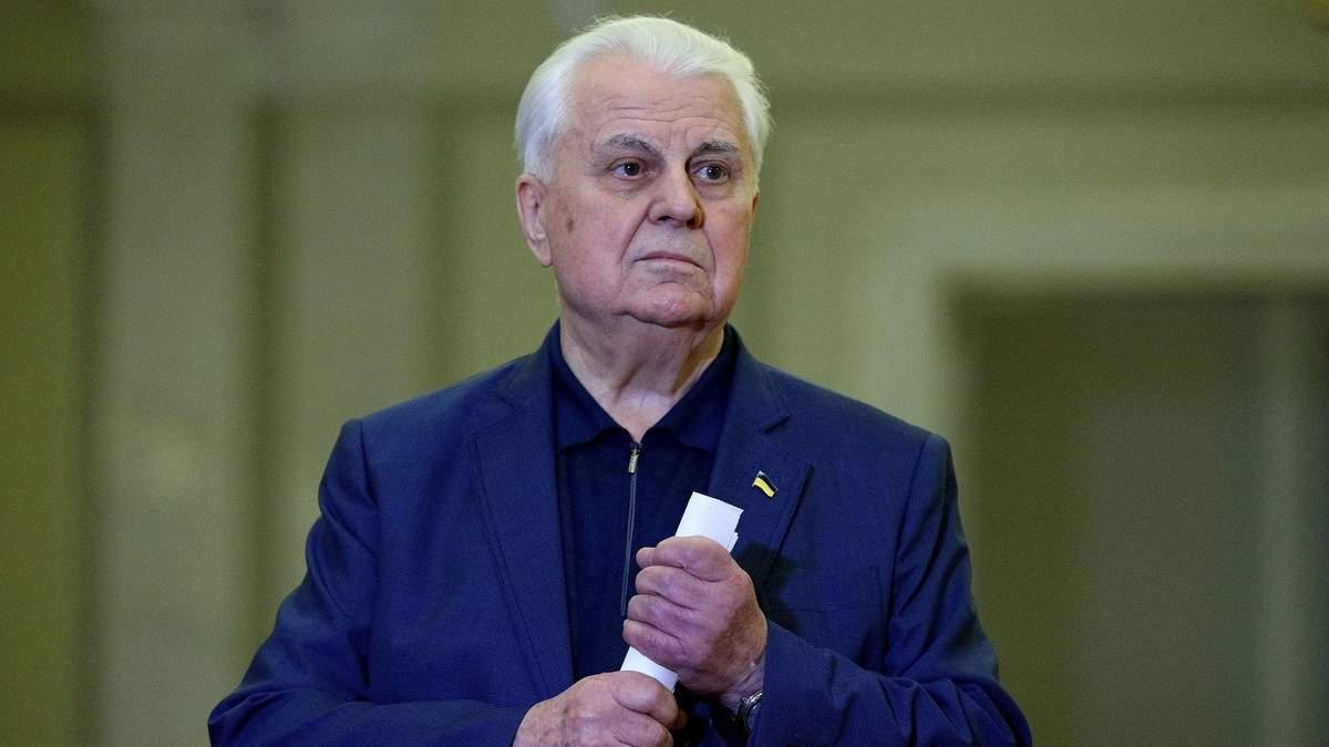Кравчук дал Зеленскому совет относительно войны на Донбассе