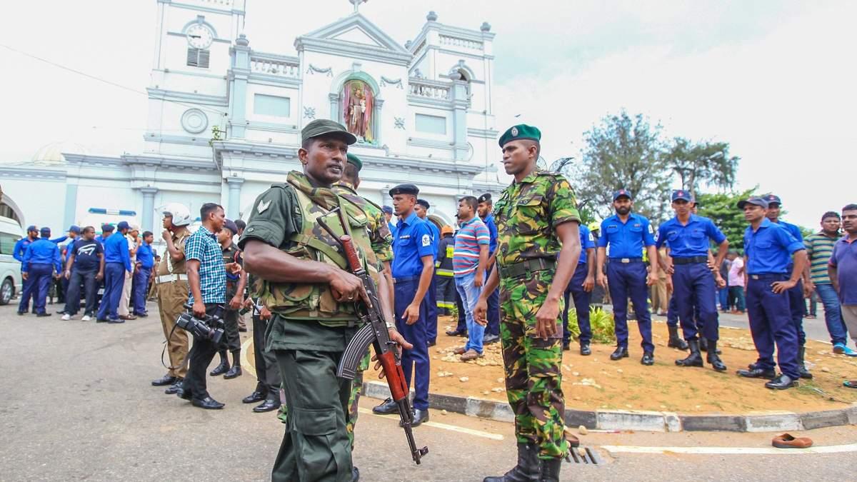 Теракты на Шри-Ланке