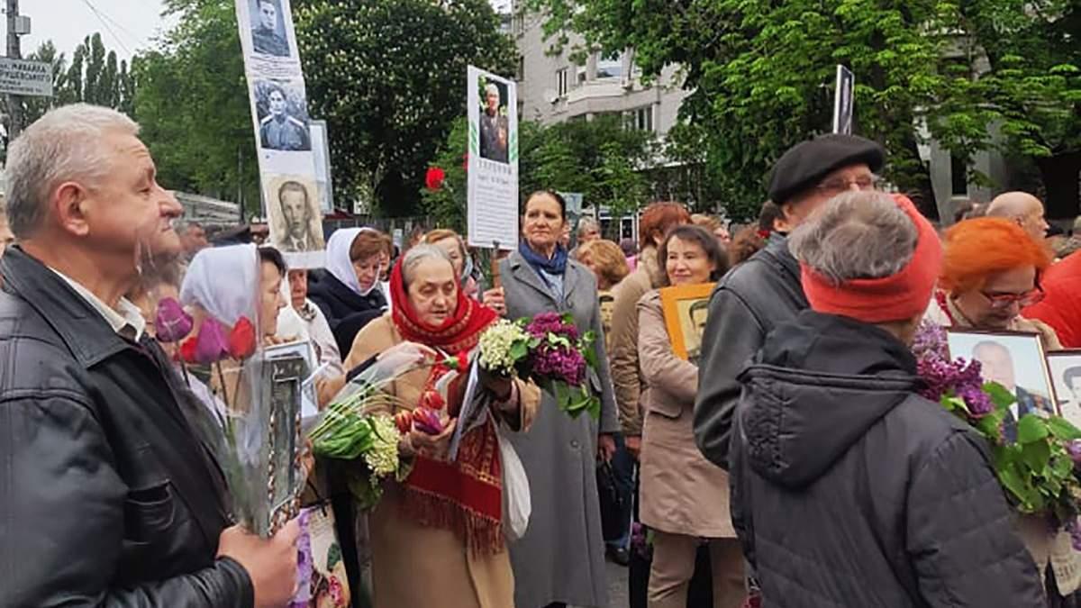 Бессмертный полк 9 мая 2019 Киев - видео и фото марша в Киеве