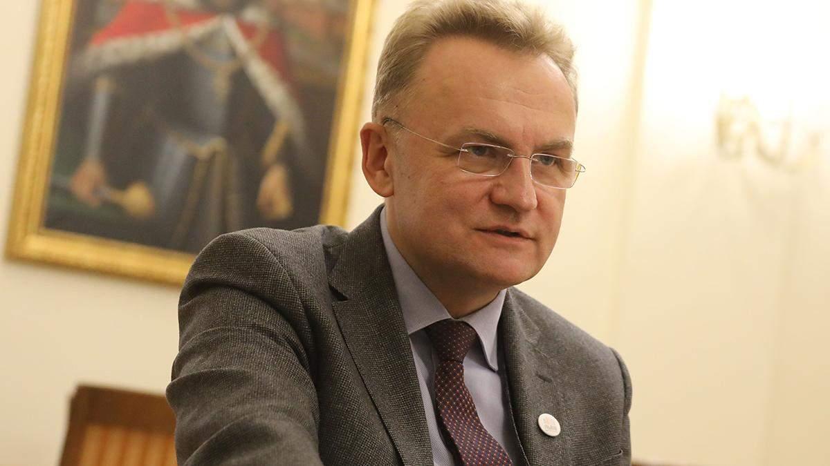 Садовый заявил, что готов бороться за пост премьер-министра
