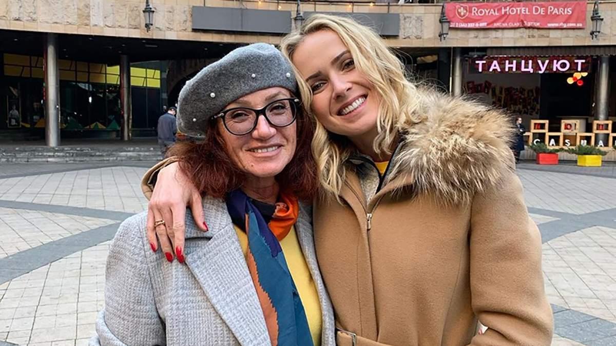 Еліна Світоліна та її мама