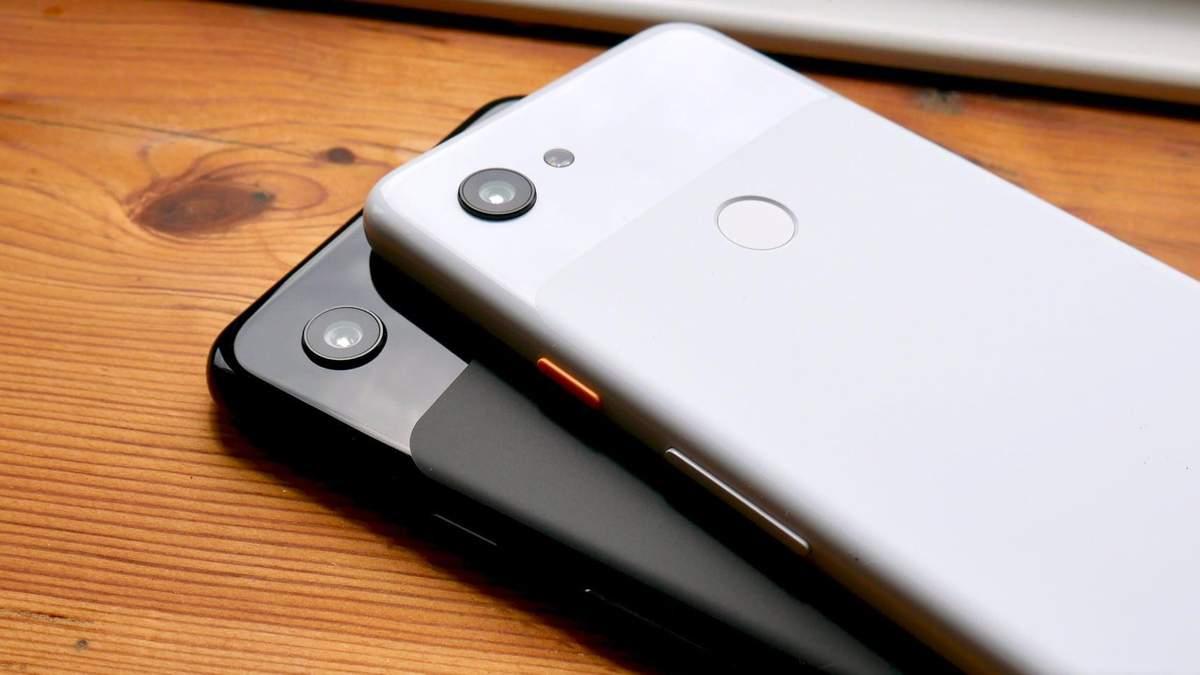 Google Pixel 3a та Pixel 3a XL
