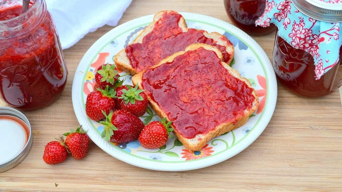 Варення з полуниці без варки - рецепт полуничного варення