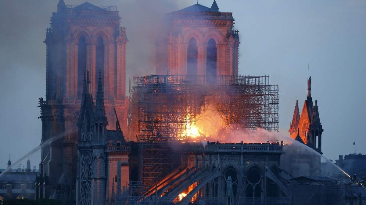 Как выглядит интерьер собора Парижской Богоматери после масштабного пожара: фото