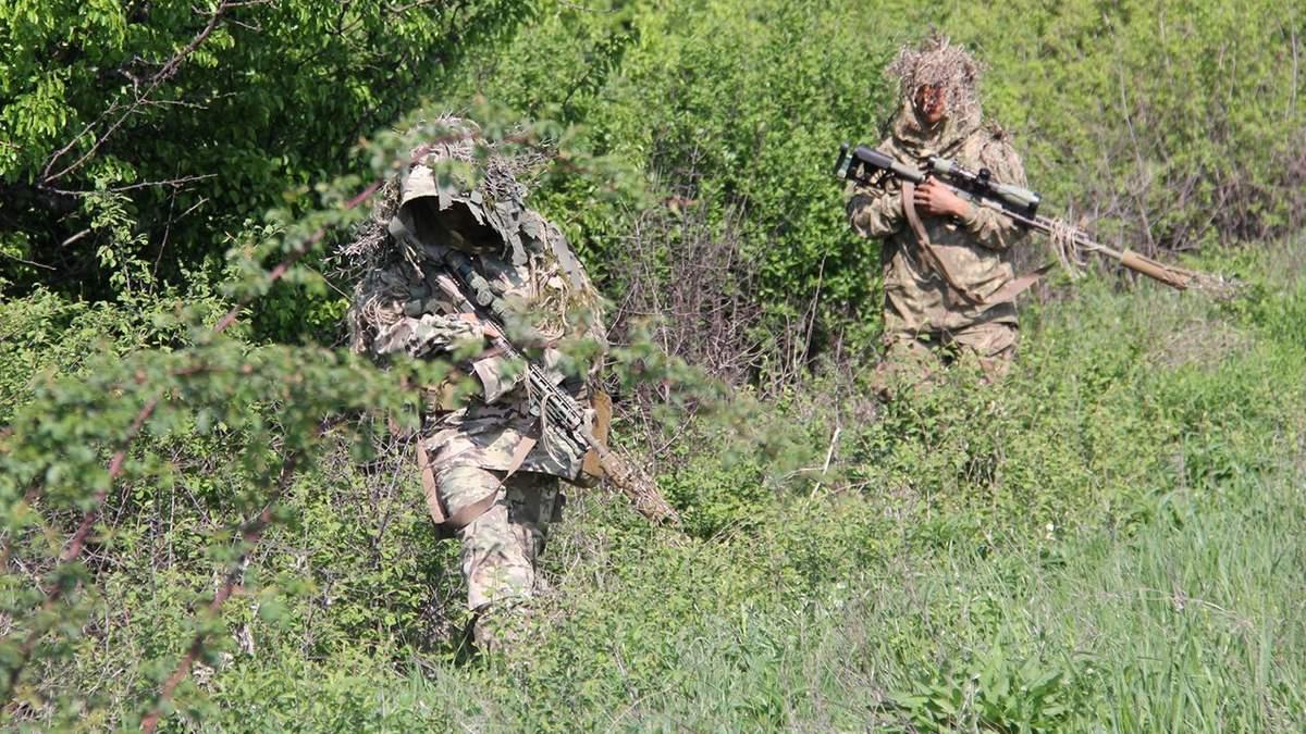 Як українські військові вистежують російських снайперів