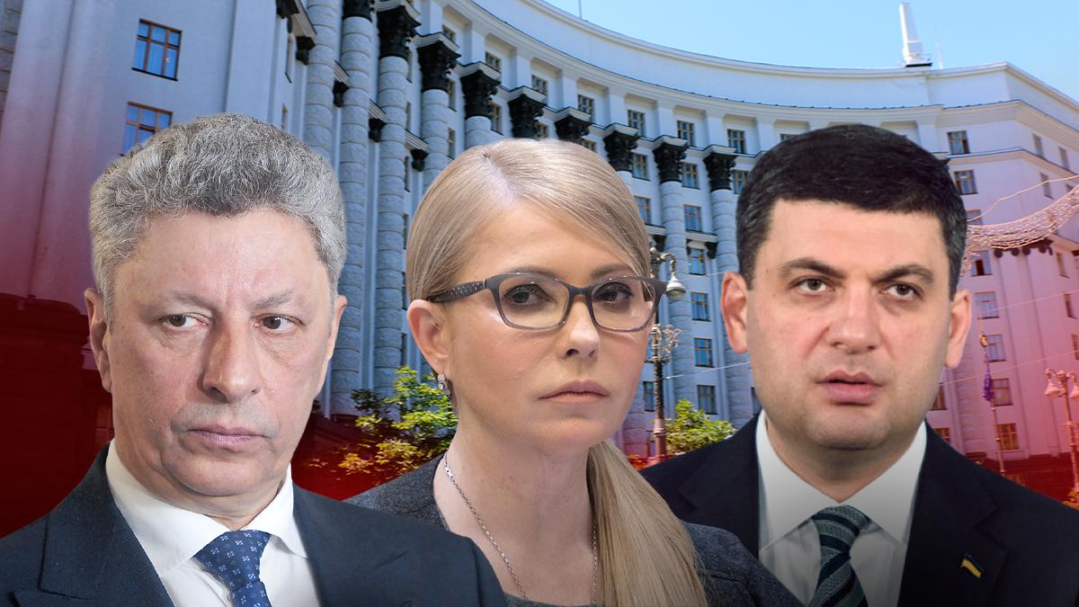 Тимошенка, Смешка, Бойка та низку інших політиків українці хотіли б бачити на посаді прем'єра