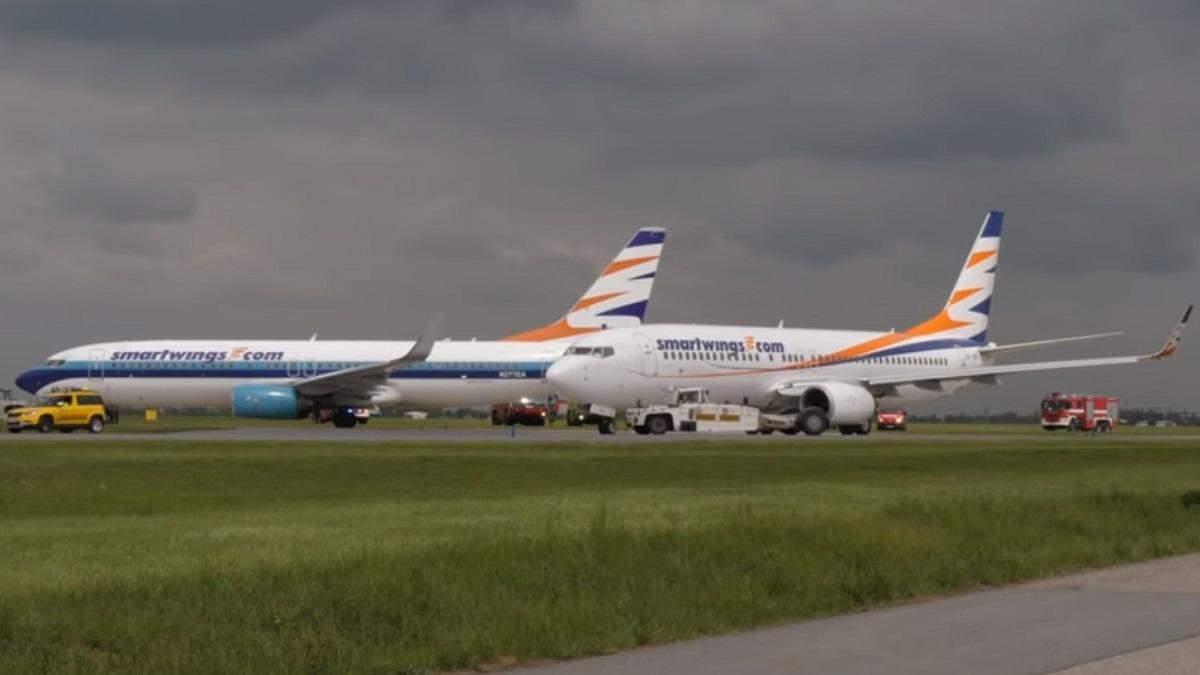 У Чехії зіткнулися два літаки