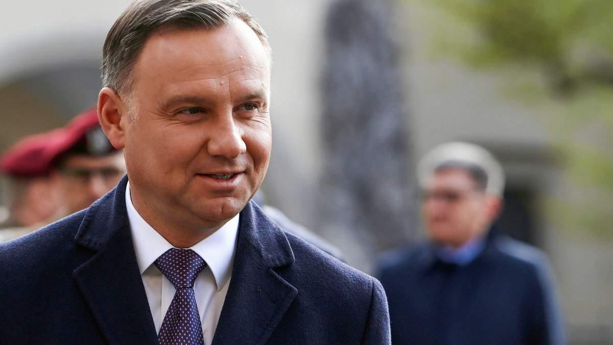 Президент Польщі не приїде на інавгурацію Зеленського