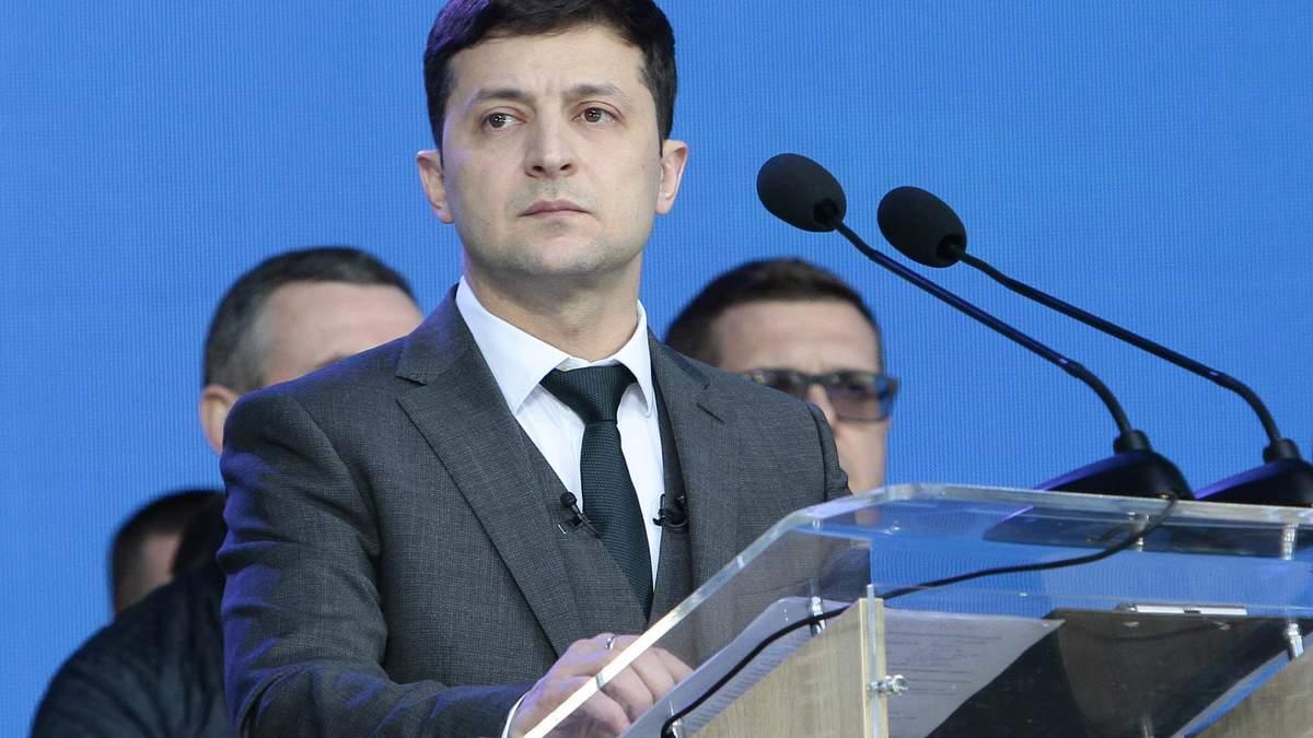 Зеленський пропонує знизити прохідний бар'єр в Раду з 5% до 3%