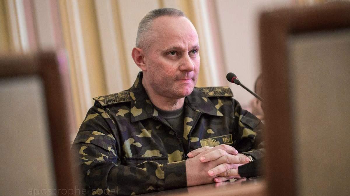 Руслан Хомчак - биография нового начальника Генштаба