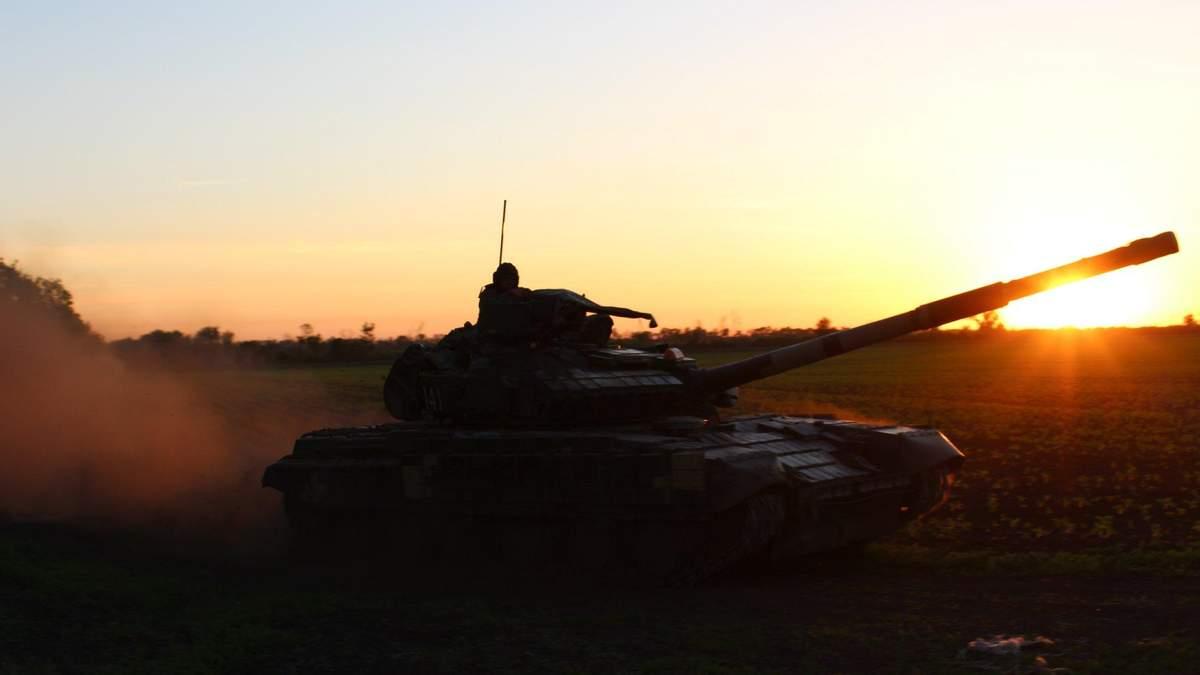 """Гарний """"танковий"""" ранок"""