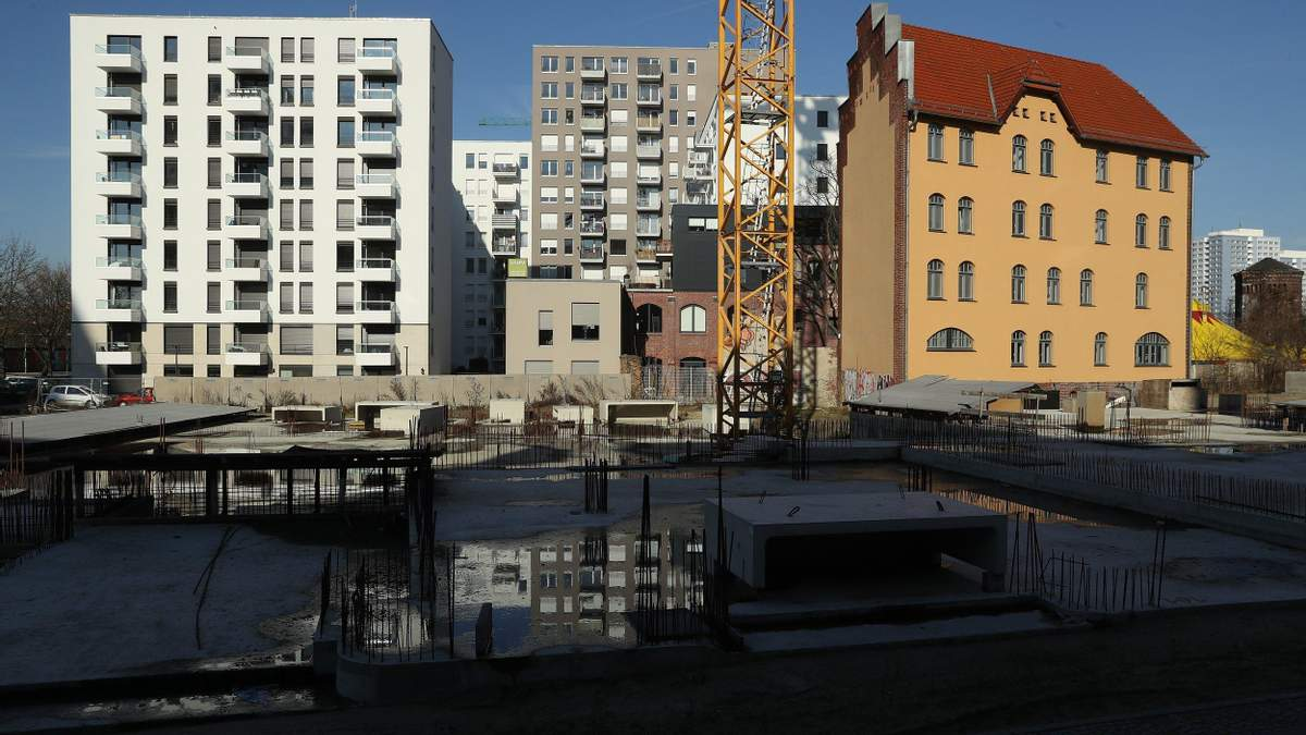 Різков впала кількість нових об'єктів будівництва у передмісті Києва