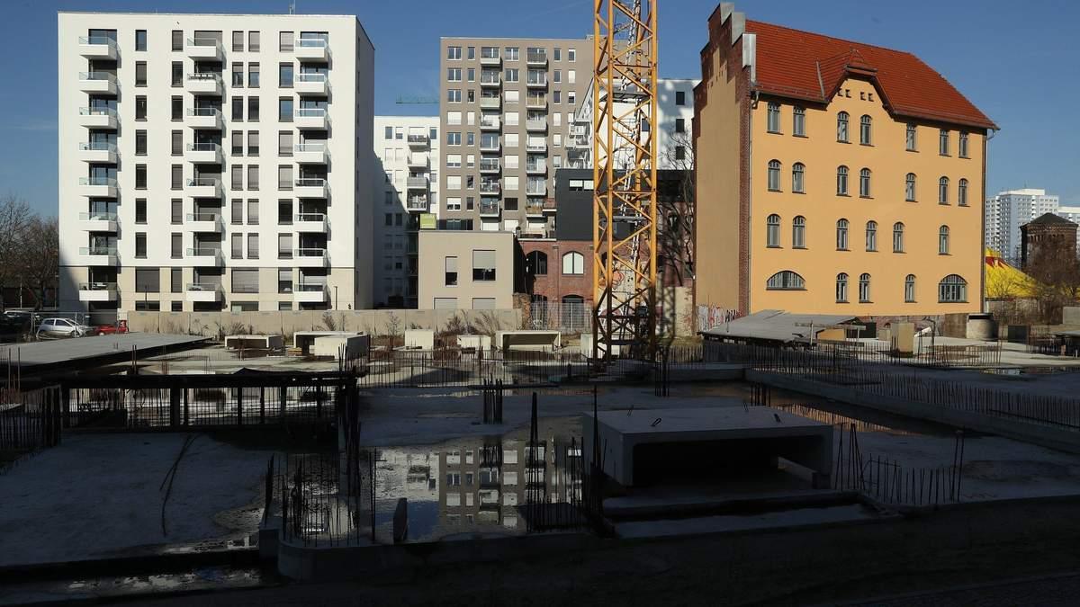 Резко упало количество новых объектов строительства в пригороде Киева