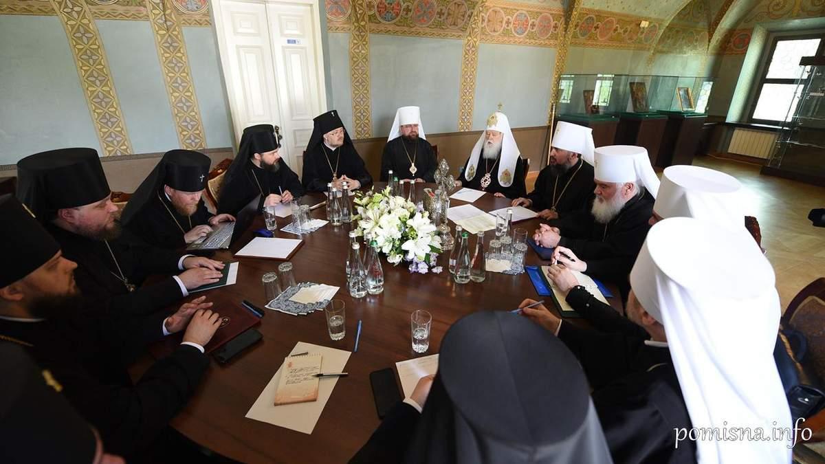 Православна церква України висловила підтримку митрополиту Епіфанію