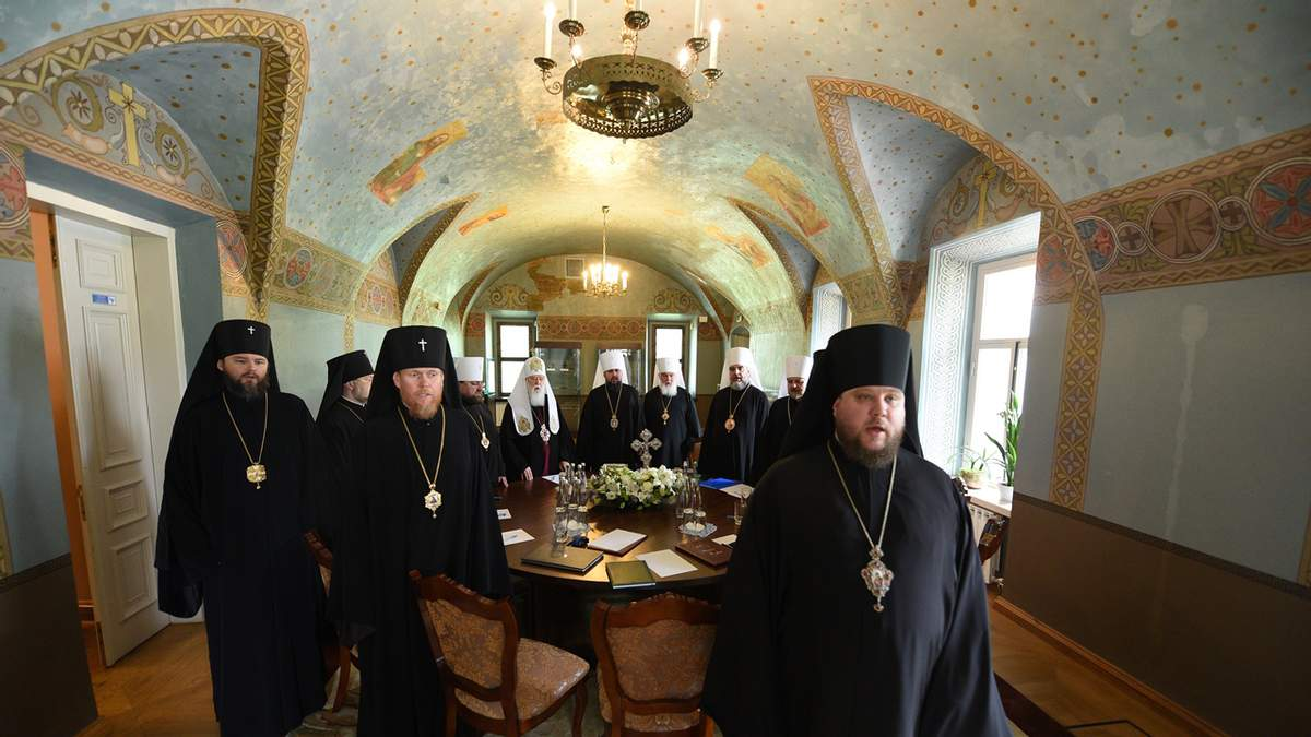 Синод Православной церкви Украины