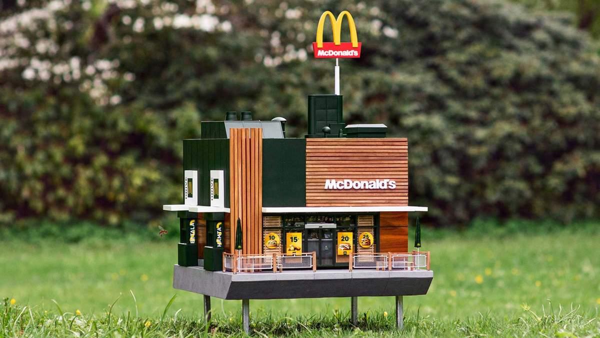 У Швеції з'явився найменший у світі McDonald's: милі фото