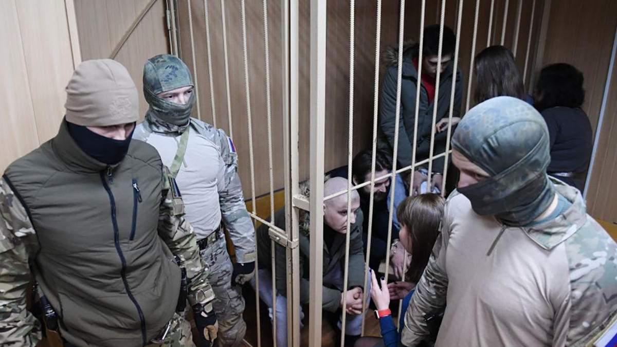 У Росії зробили зухвалу заяву про звільнення з полону українських моряків