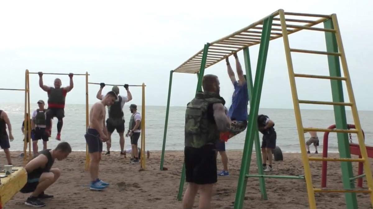 Змагання у бронежилетах: як у Маріуполі пройшов Мерфі-челендж