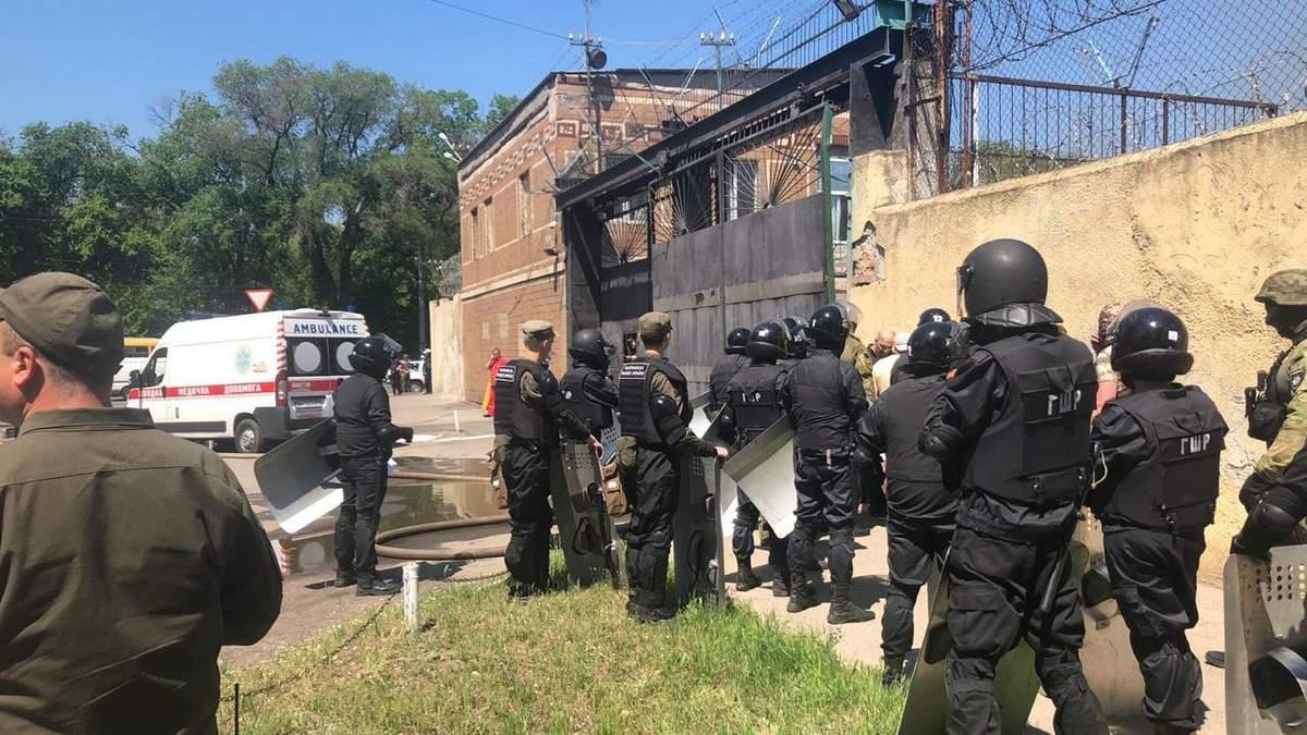 Бунт в колонии Одессы: официальный комментарий полиции