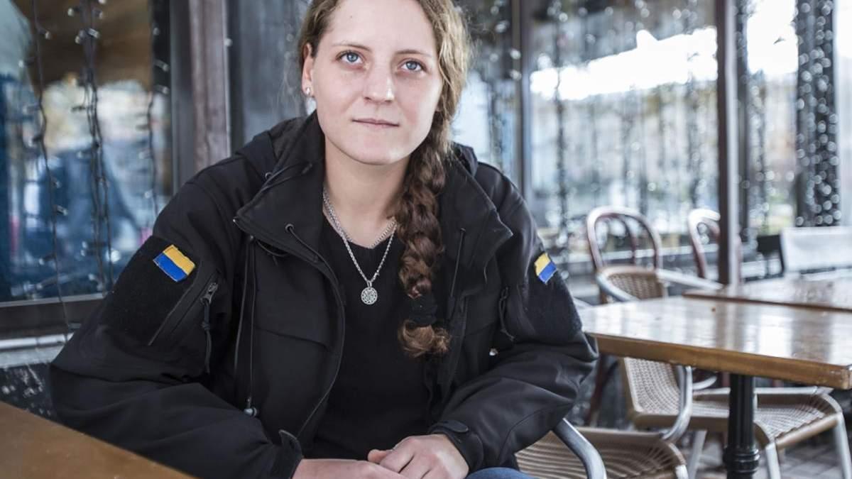"""Росіянка Юлія Толопа """"Валькірія"""" воювала за Україну на Донбасі"""