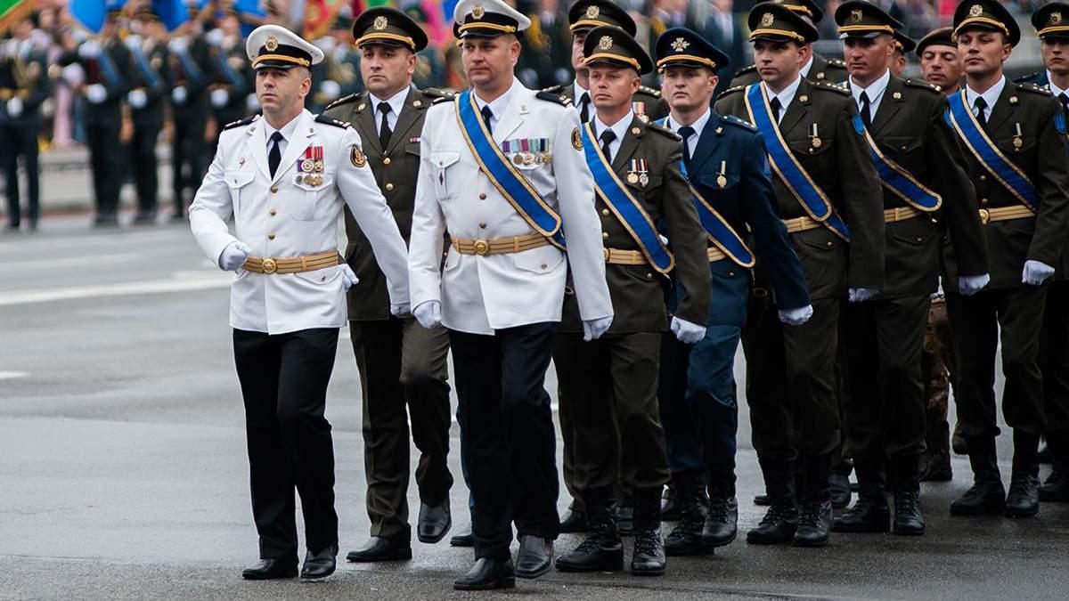 В Україні реформують військові звання
