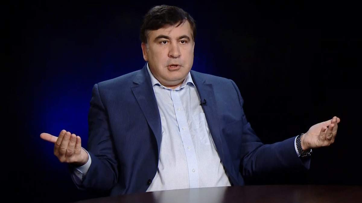 Саакашвили о последней встрече лицом к лицу с Порошенко: Думали ...