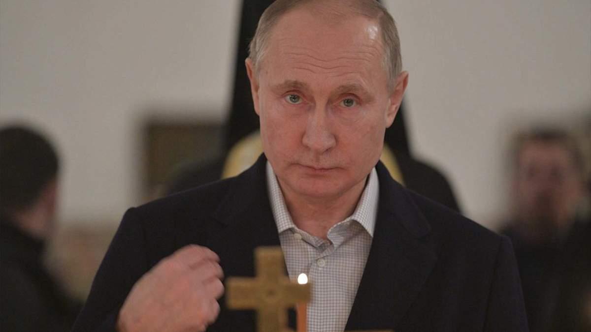 Кремлевская мистика, или Как Путин отмаливает грехи