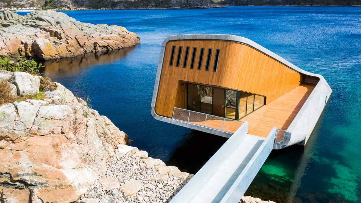 В Норвегии открылся первый в Европе подводный ресторан: удивительные фото