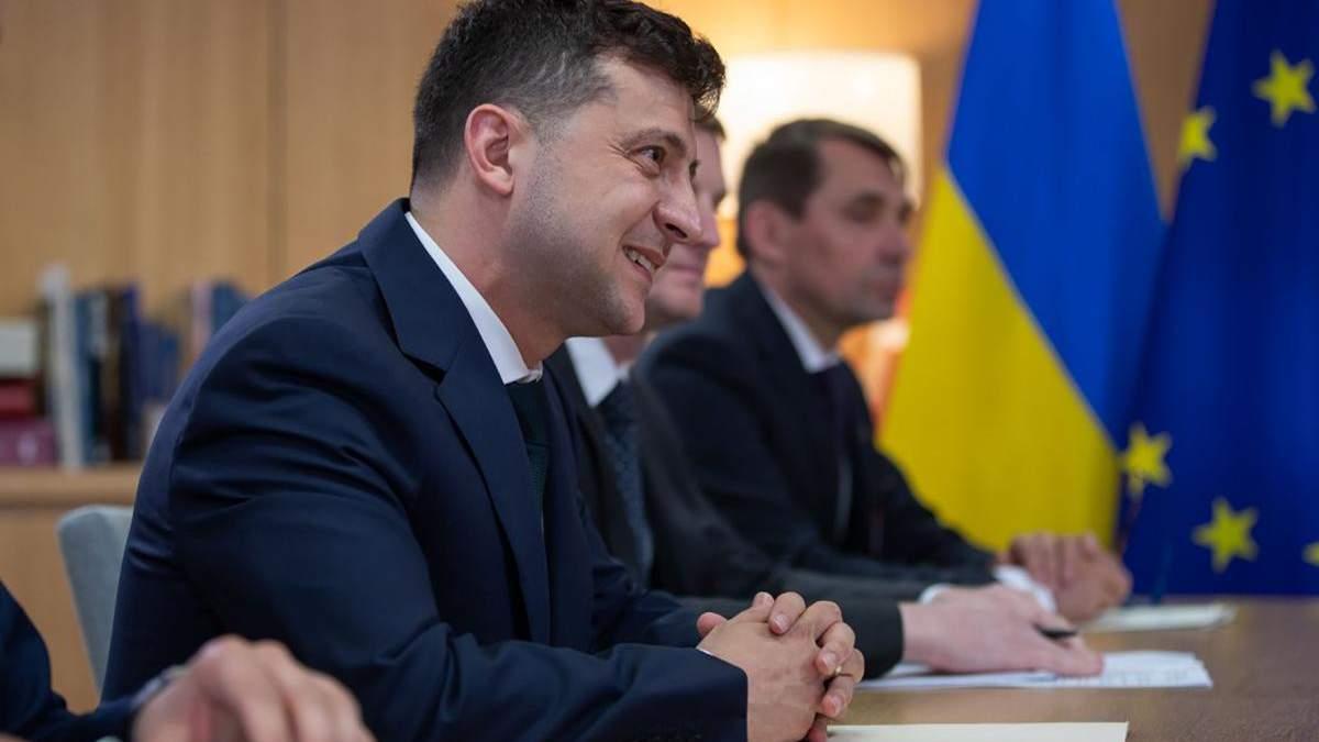Зеленский в Брюсселе - видео, фото, выступление и все встречи президента Украины