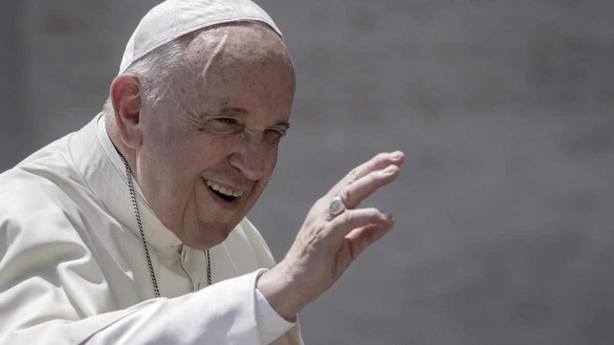 Папа Римський Франциск змінив молитву Отче наш - текст нової молитви