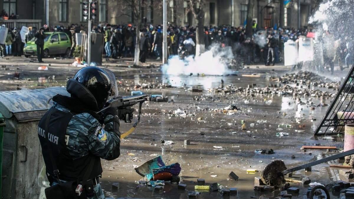 Зброї у людей на Майдані не бачили: на суді проти екс-беркутівців пролунали важливі свідчення
