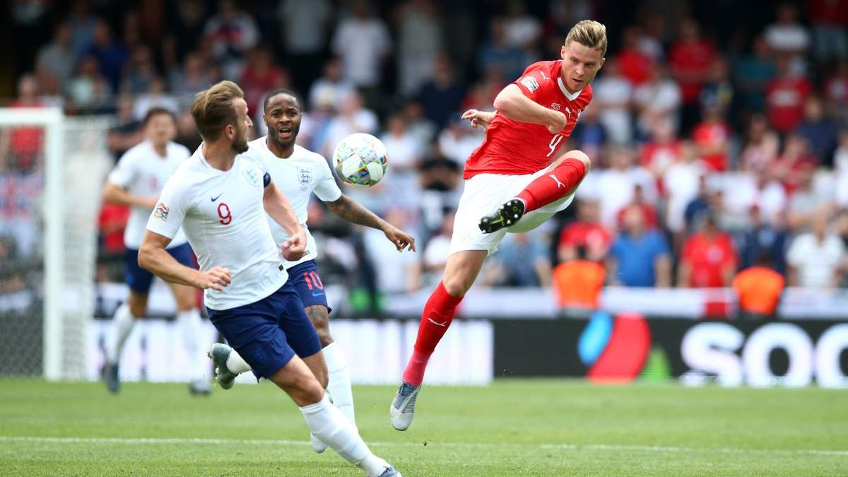 Швейцарія – Англія: відео голів та огляд 09.06.2019 - Ліга націй 2019