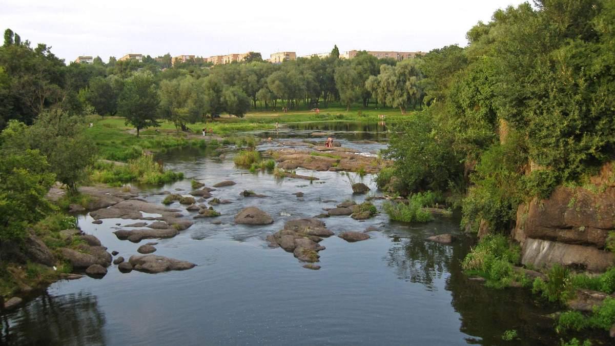 В реку Рось попало огромное количество химикатов