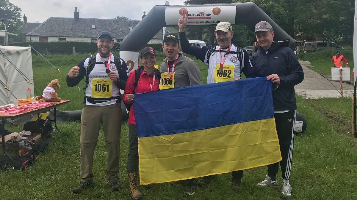 Українські ветерани гідно представили свою країну на змаганнях